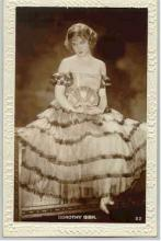 mov007032 - Dorothy Gish Actor / Actress Postcard Post Card Old Vintage Antique Movie Star
