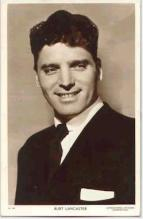 mov011006 - Burt Lancaster Actor / Actress Postcard Post Card Old Vintage Antique Movie Star