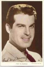 mov012001 - Fred MacMurray Actor / Actress Postcard Post Card Old Vintage Antique Movie Star