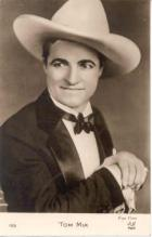 mov012030D - Tom Mix Actor / Actress Postcard Post Card Old Vintage Antique Movie Star