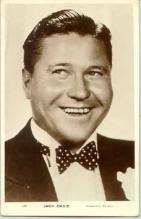 mov014001 - Jack Oakie Actor / Actress Postcard Post Card Old Vintage Antique Movie Star