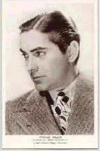 mov015006 - Tyrone Power Actor / Actress Postcard Post Card Old Vintage Antique Movie Star