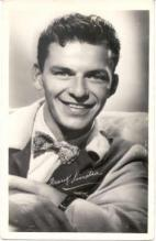 mov017014 - Frank Sinatra Actor / Actress Postcard Post Card Old Vintage Antique Movie Star