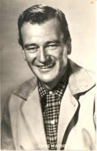 mov020002 - John Wayne Actor / Actress Postcard Post Card Old Vintage Antique Movie Star