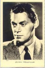 mov020006 - Johnny Weissmuller Actor / Actress Postcard Post Card Old Vintage Antique Movie Star