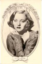 mov075001 - Tallulah Bankhead Actor / Actress Postcard Post Card Old Vintage Antique Movie Star