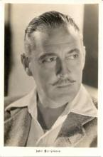 mov090001 - John Barrymore Actor / Actress Postcard Post Card Old Vintage Antique Movie Star
