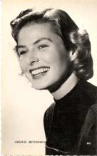 mov120001 - Ingrid Bergman Actor / Actress Postcard Post Card Old Vintage Antique Movie Star