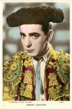 mov185004 - Eddie Cantor Actor / Actress Postcard Post Card Old Vintage Antique Movie Star