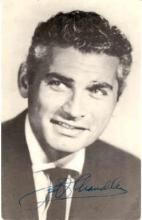 mov200001 - Jeff Chandler Actor / Actress Postcard Post Card Old Vintage Antique Movie Star