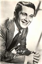 mov220001 - Perry Como Actor / Actress Postcard Post Card Old Vintage Antique Movie Star