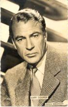 mov230002 - Gary Cooper Actor / Actress Postcard Post Card Old Vintage Antique Movie Star