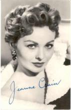 mov240001 - Jeanne Crain Actor / Actress Postcard Post Card Old Vintage Antique Movie Star