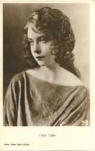 mov420027 - Lillian Gish Actor / Actress Postcard Post Card Old Vintage Antique Movie Star
