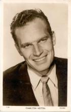 mov480001 - Charlton Heston Actor / Actress Postcard Post Card Old Vintage Antique Movie Star
