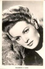 mov715002 - Maureen O'Hara Actor / Actress Postcard Post Card Old Vintage Antique Movie Star