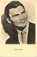 mov730001 - Jack Palance Actor / Actress Postcard Post Card Old Vintage Antique Movie Star