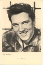 mov755003 - Elvis Presley Musician Actor / Actress Postcard Post Card Old Vintage Antique Movie Star