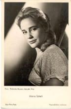 mov835001 - Maria Schell Actor / Actress Postcard Post Card Old Vintage Antique Movie Star