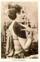 mov880003 - Gloria Swanson Actor / Actress Postcard Post Card Old Vintage Antique Movie Star