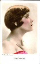 mov880009 - Gloria Swanson Actor / Actress Postcard Post Card Old Vintage Antique Movie Star