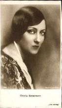mov880012 - Gloria Swanson Actor / Actress Postcard Post Card Old Vintage Antique Movie Star