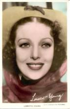 mov975002 - Loretta Young Actor / Actress Postcard Post Card Old Vintage Antique Movie Star