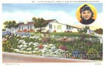 msh001009 - Jane Withers, Westwood, CA Movie Star Homes Postcard Postcards