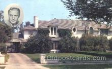 msh001011 - Jack Benny, Beverly Hills, CA Movie Star Homes Postcard Postcards