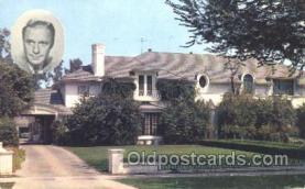 msh001011 - Jack Benny, Beverly Hills, CA Movie Star Homes Postcard Postcards