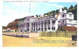 msh001019 - Marion Davies, Santa Monica, CA Movie Star Homes Postcard Postcards