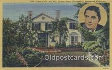 msh001027 - Mr. & Mrs Tyrone Power, Brentwood, CA, USA Movie Star, Actor / Actress, Post Card Postcard