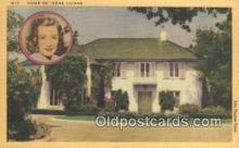 msh001029 - Irene Dunne Movie Star, Actor / Actress, Post Card Postcard