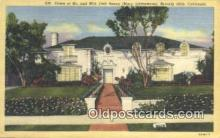 msh001056 - Jack Benny, Beverly Hills, CA, USA Movie Star, Actor / Actress, Post Card Postcard
