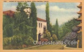 msh001065 - Deanna Durbin, Hollywood CA, USA Movie Star, Actor / Actress, Post Card Postcard