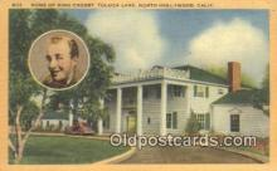 msh001099 - Bing Crosby, North Hollywood, CA USA Movie Star, Actor / Actress, Post Card Postcard