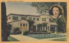 msh001113 - Hedy Lamarr Movie Star, Actor / Actress, Post Card Postcard