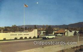 msh001117 - Fess Parker, Santa Barbara, CA, USA Movie Star, Actor / Actress, Post Card Postcard