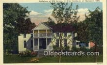 msh001119 - Will Rogers, Birth Place, Oologah, Oklahoma Movie Star, Actor / Actress, Post Card Postcard
