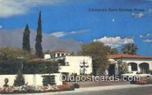 msh001138 - Liberace, Palm Spring, CA, USA Movie Star, Actor / Actress, Post Card Postcard