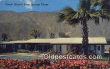 msh001143 - Dinah Shore, Palm Spring, USA Movie Star, Actor / Actress, Post Card Postcard