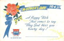 mth000007 - Mothers Day Old Vintage Postcard Post Card
