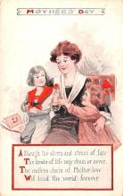 mth000013 - Mothers Day Old Vintage Postcard Post Card