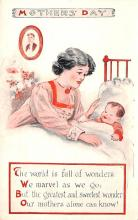 mth000023 - Mothers Day Old Vintage Postcard Post Card
