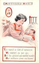 mth000023 - Mothers Day Old Vintage Postcard Post Card