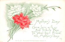 mth000027 - Mothers Day Old Vintage Postcard Post Card