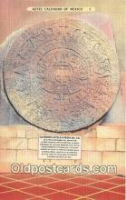 Aztec Calendar of Mexico