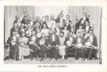 mus001003 - The Aston Banjo Orchestra Postcard Postcards