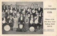mus001004 - The Aston Banjo Orchestra Postcard Postcards
