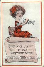 mus001028 - Music, Musician, Composer, Postcard Postcards